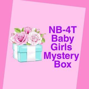 Other - Newborn to 4T surprise baby girls mystery box!